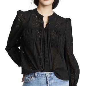 Madewell Tops - Madewell Double-Tie Peasant Top